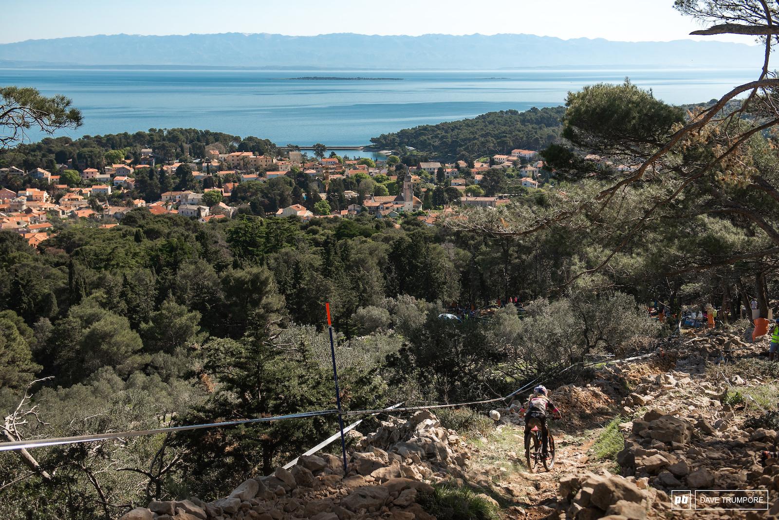 beautiful views of the Adriatic Sea