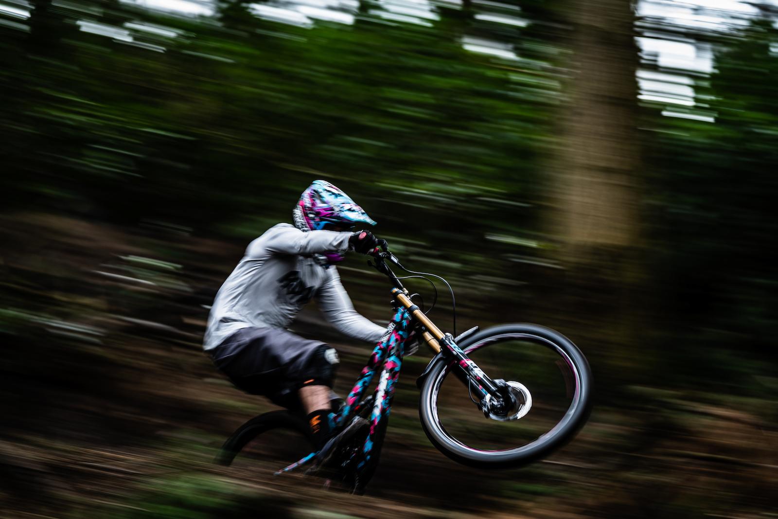 Ben The Deakinator Deakin slaying the bike park two weeks before Covid-19 lockdown