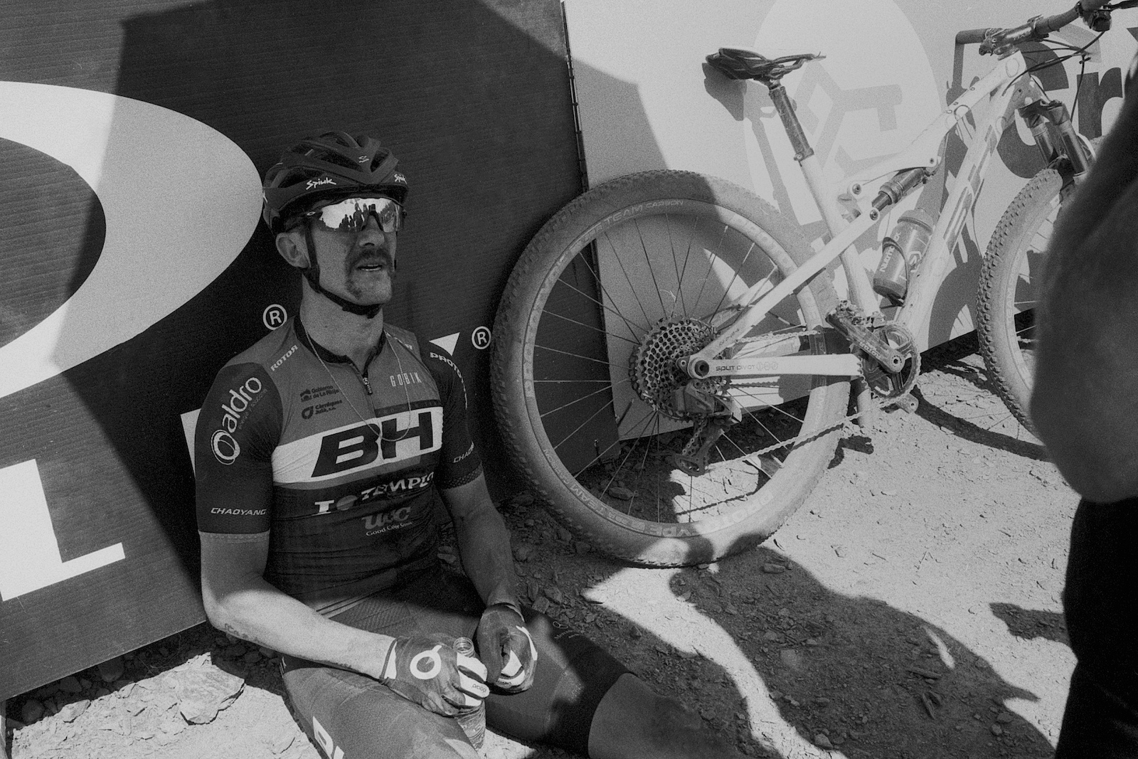 Lungs full of dust for Carlos Coloma back in Vallnord.