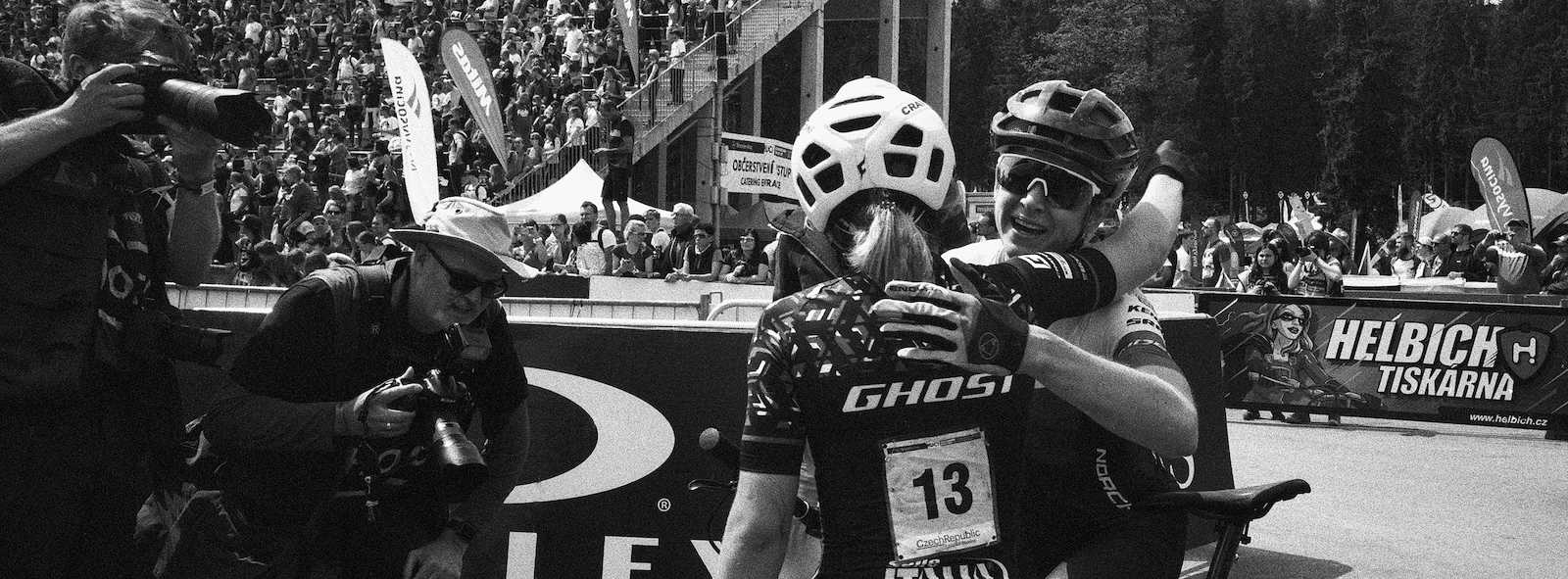 Haley Smith s long awaited first podium finish happened in Nove Mesto after a powerful performance.