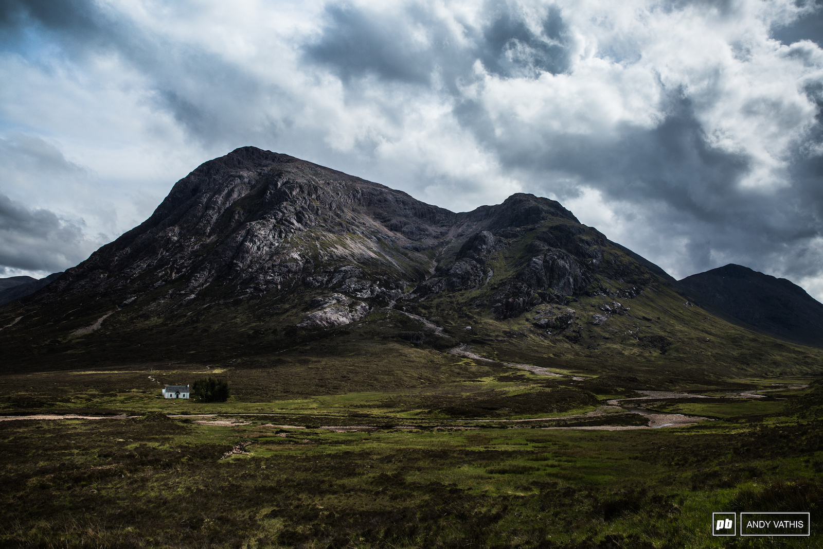 A classic look into the Scottish Highlands.