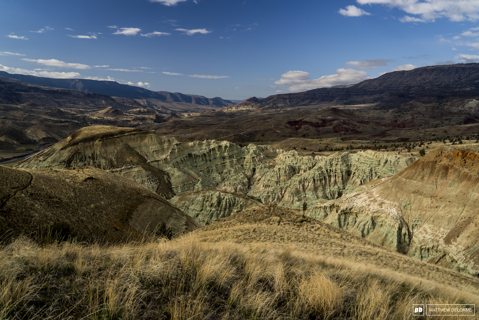 Layers of time. There are fossil records in those cliffs of all that came before us. John Day Oregon.