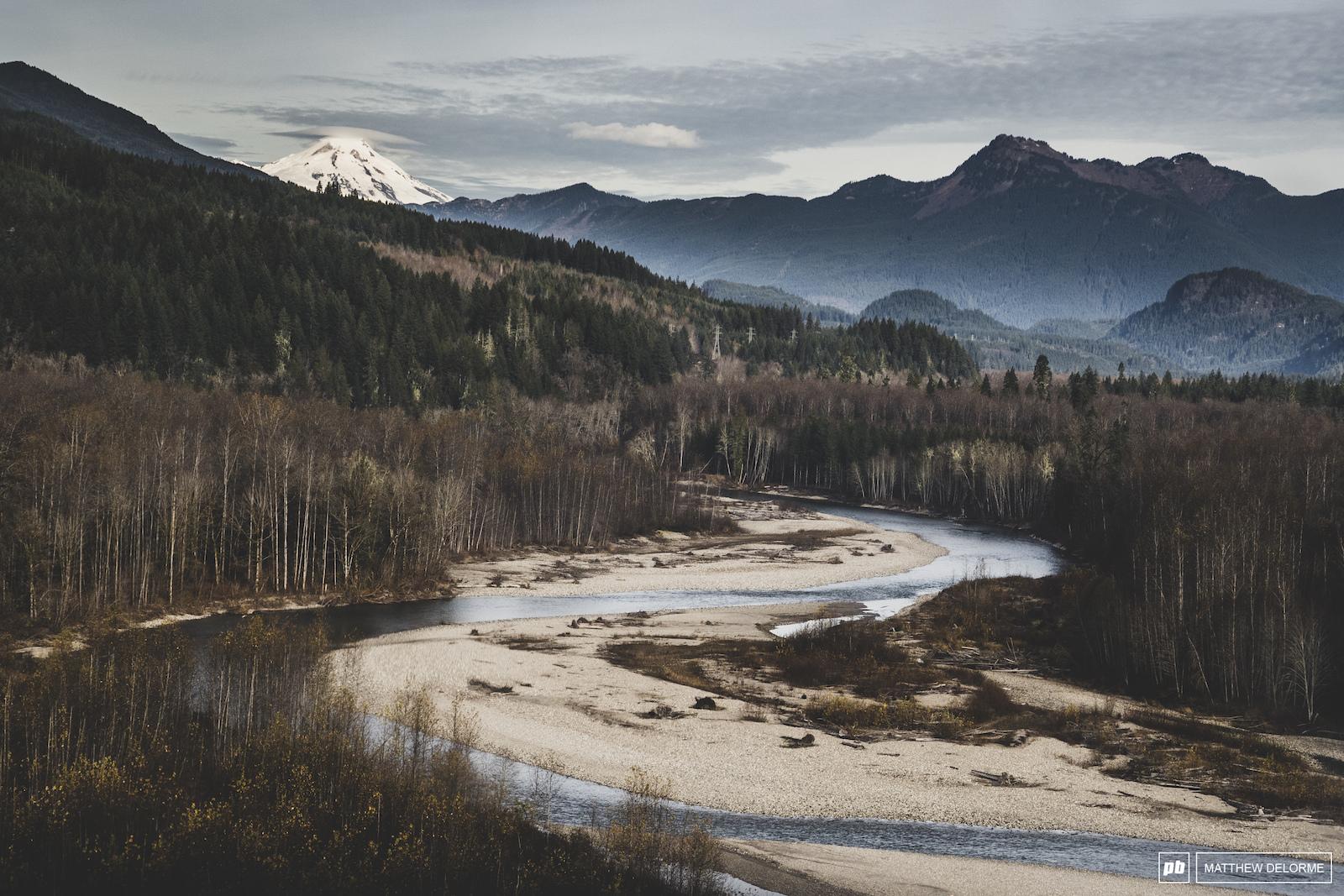 Sauk River Darrington Washington