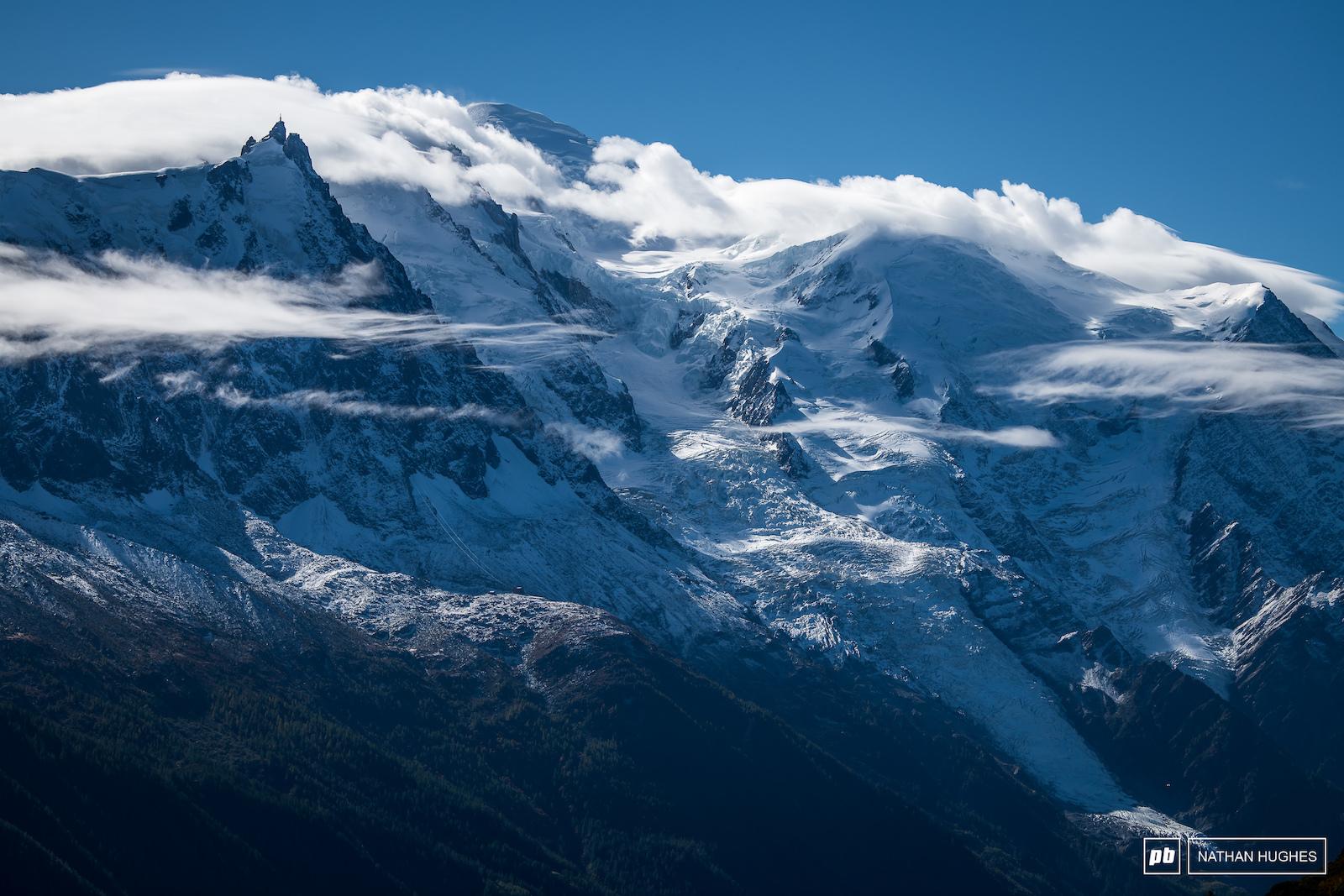 Mont Blanc France.