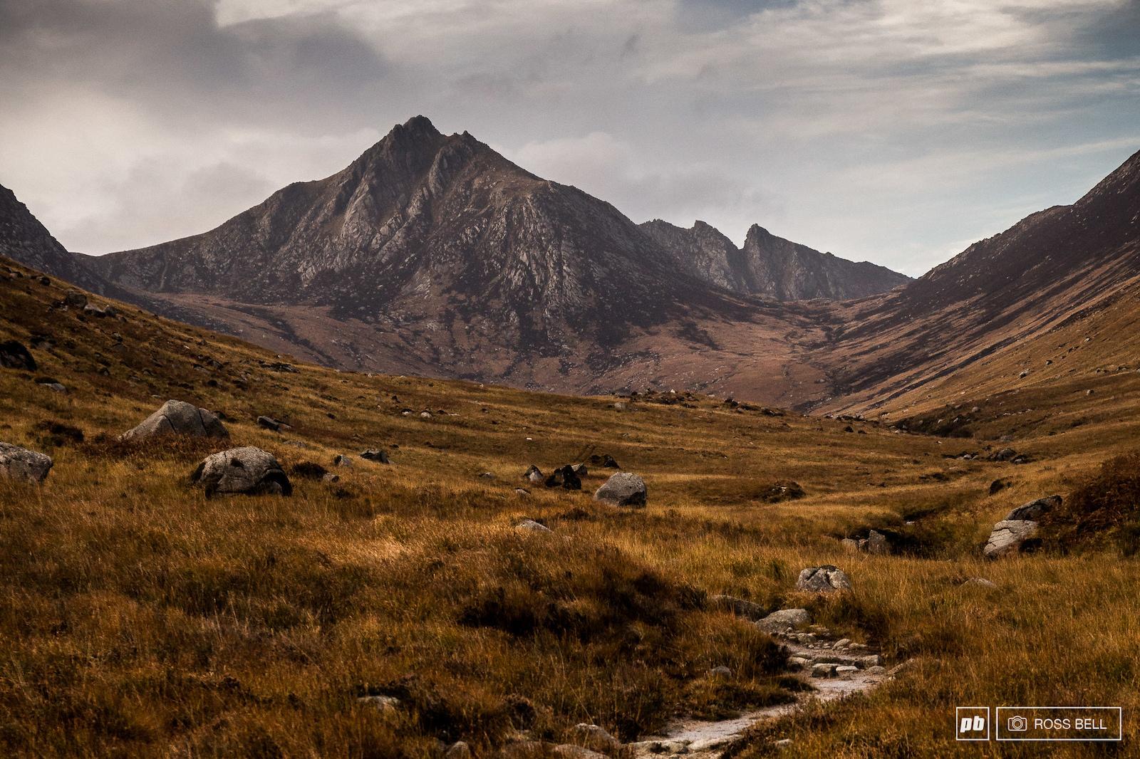 Glen Rosa on the Isle of Arran on the West Coast of Scotland.