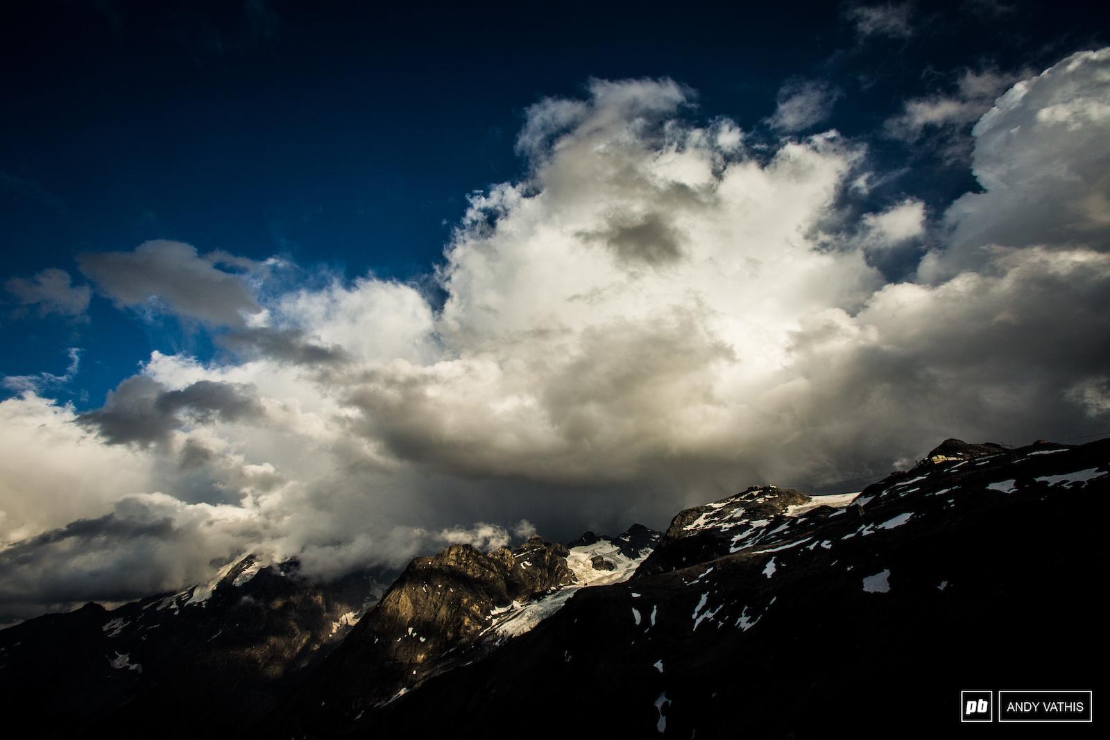 A dramatic Stelvio Pass.
