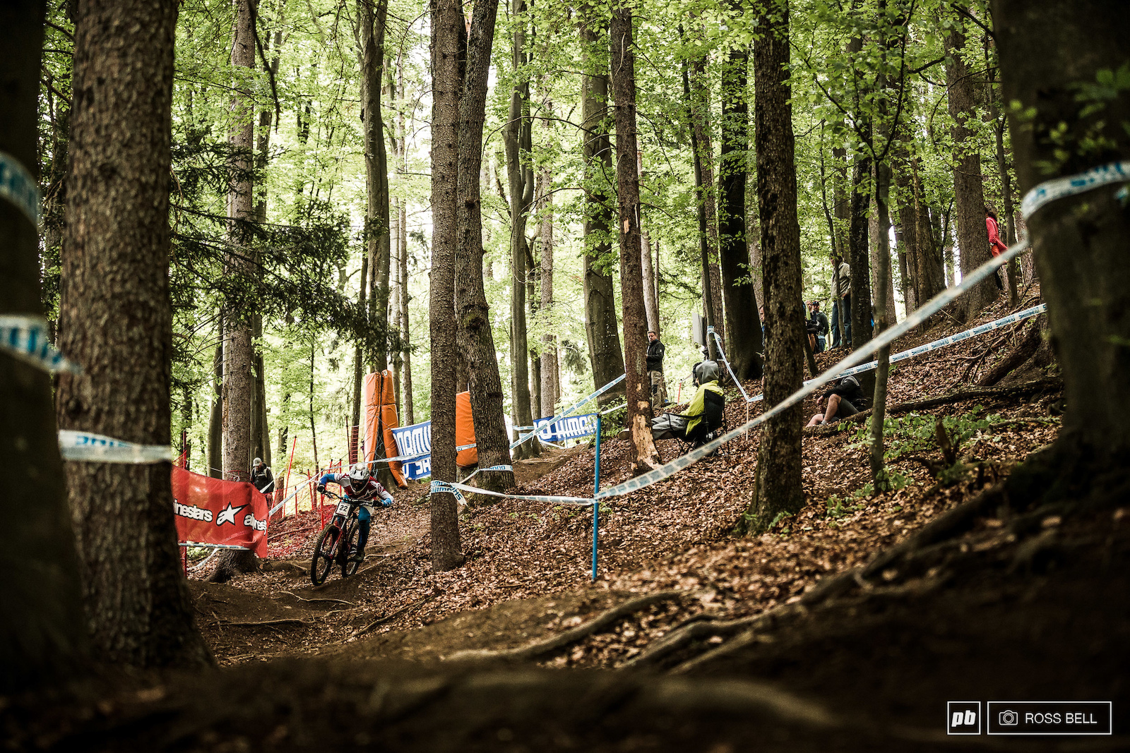 The savage Maribor track is quite the contrast to the quaint woodland that it runs through as Dakotah Norton discovers.