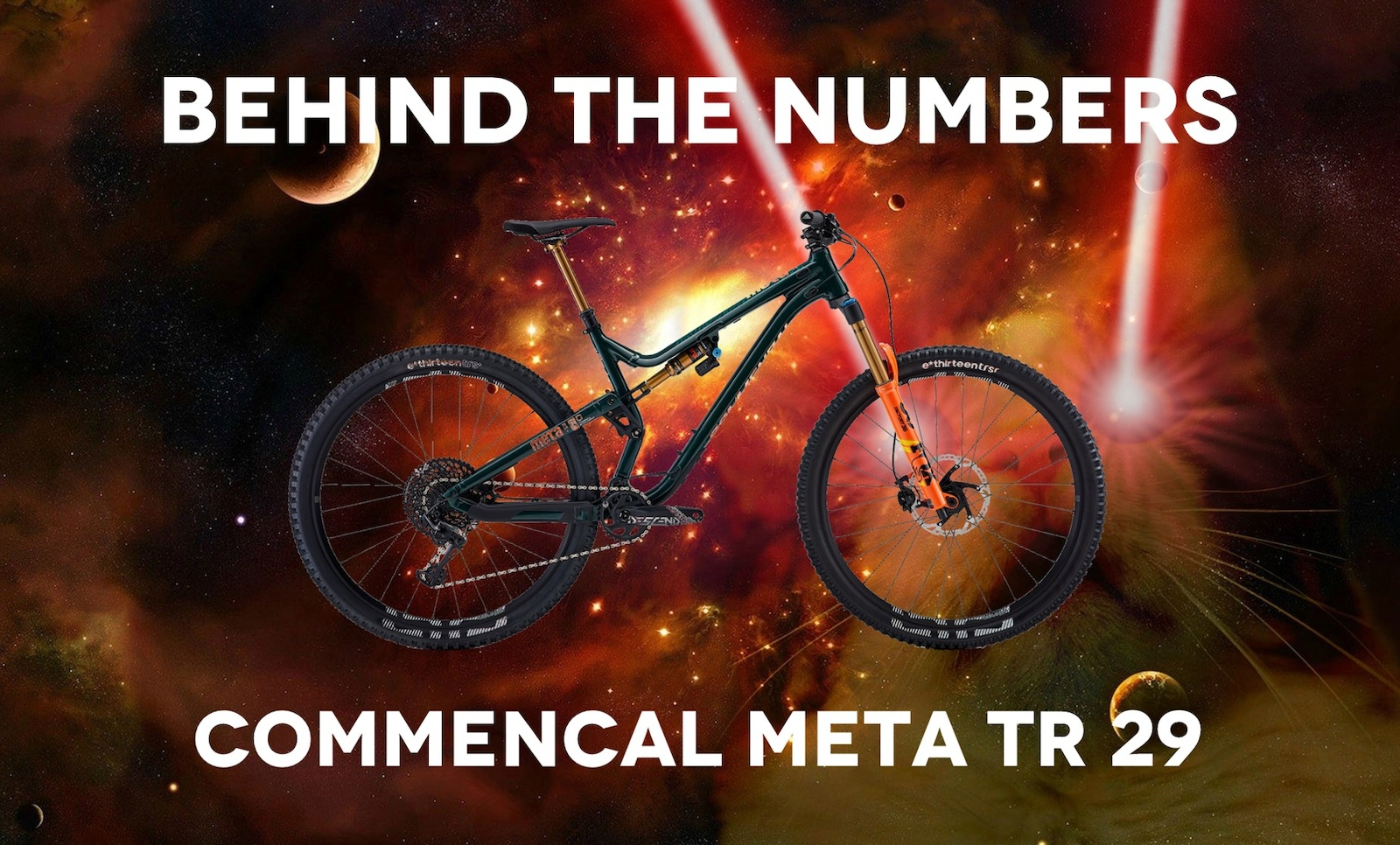 Behind the Numbers - Commencal Meta TR 29