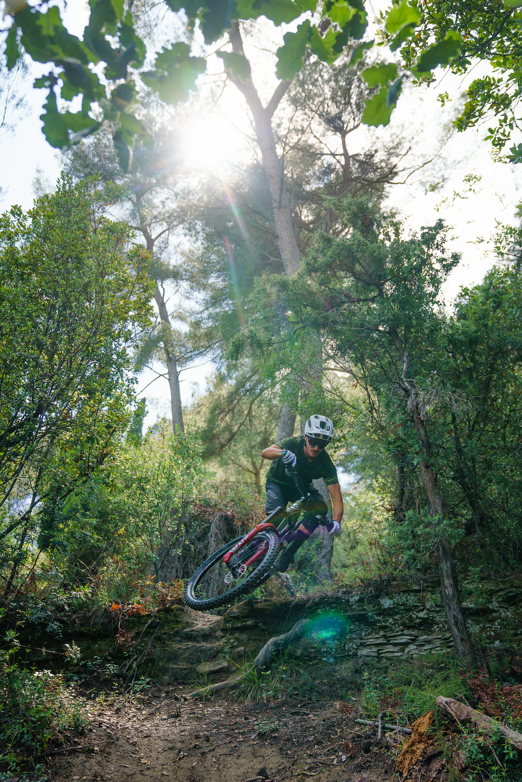 One day to ride with Adrien Dailly. Nice France. Photo by Matt Wragg