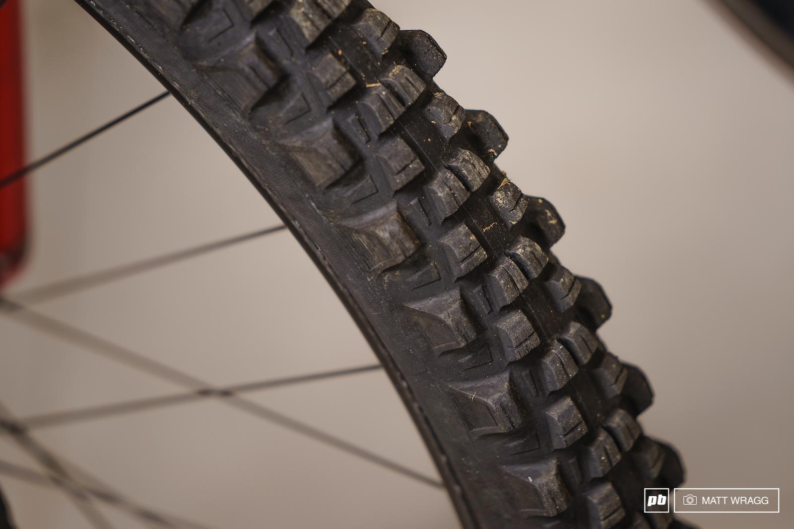 Nico Vouilloz s bikes. Berre-les-alpes France. Photo by Matt Wragg