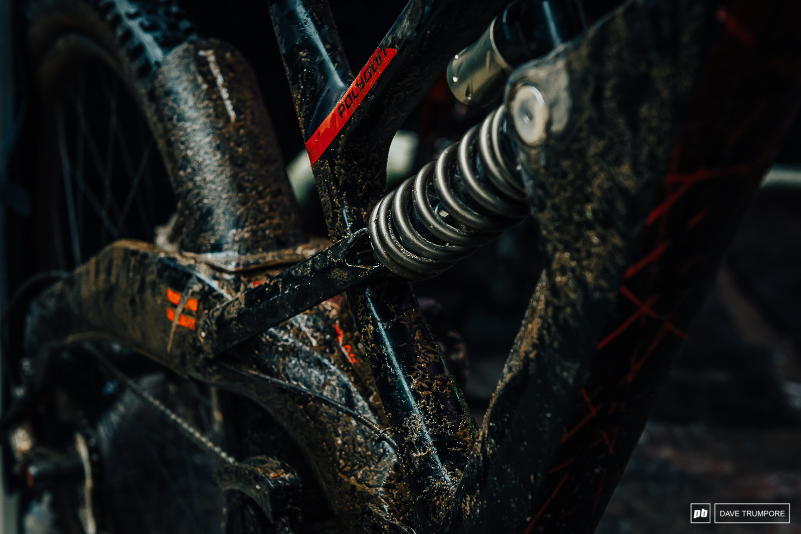 equipment covered in water bud and grit at all times