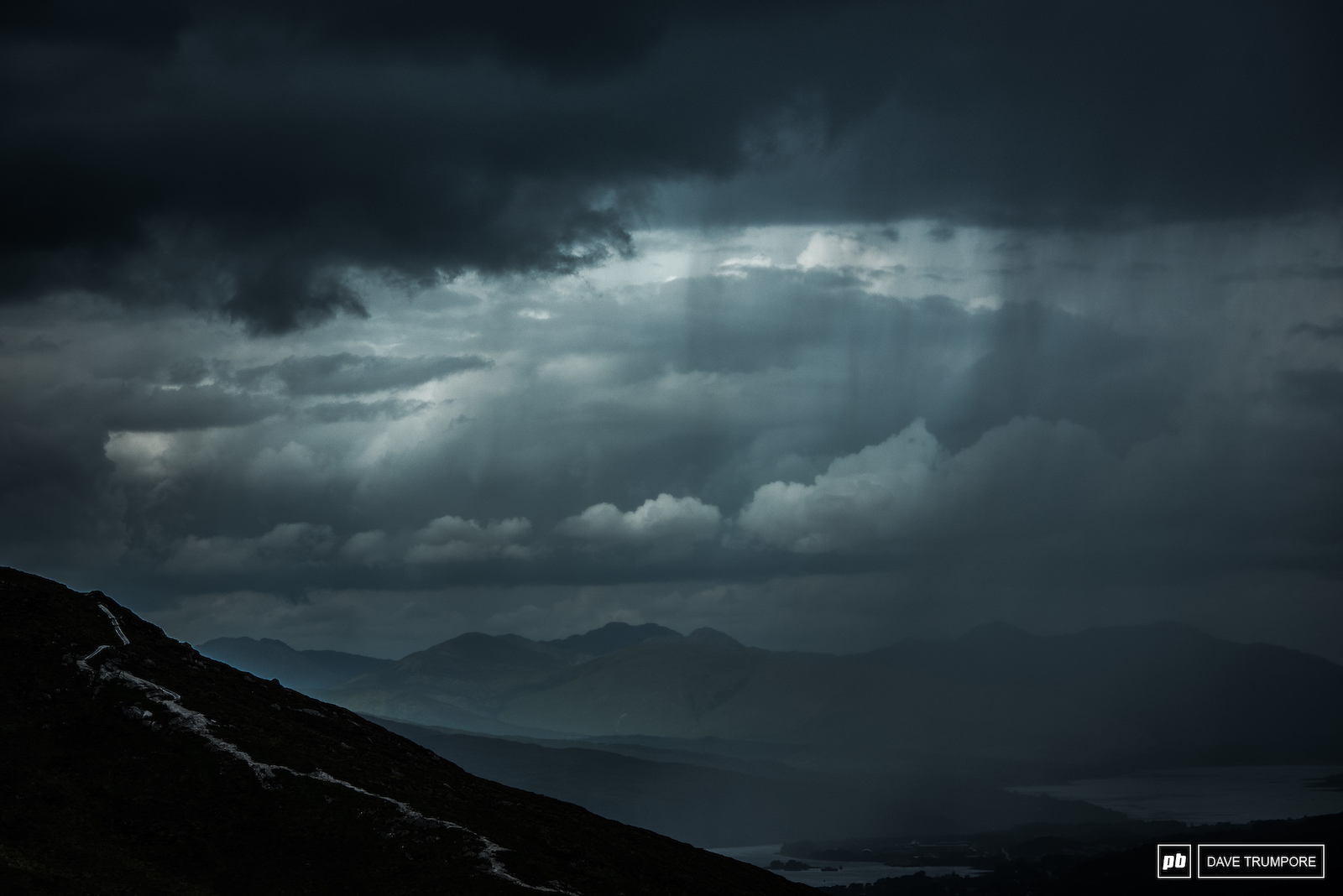 You can see the weather rolling in from miles away. Quite often it s not a pretty sight