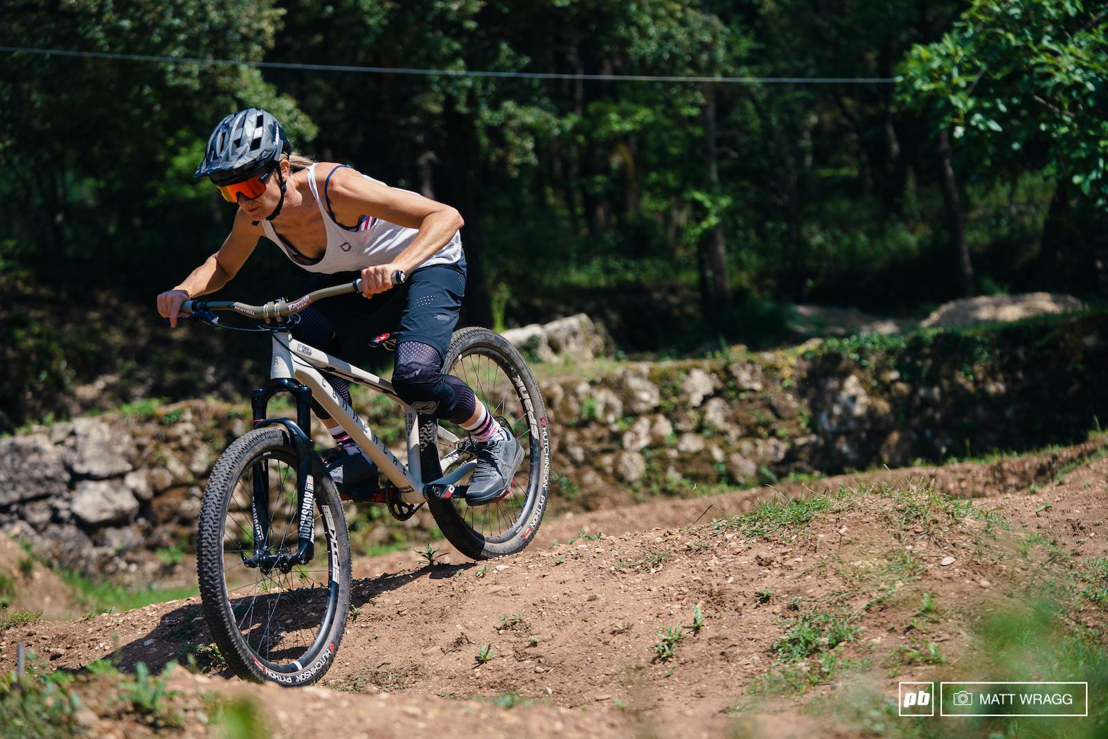 Cecile Ravanel profile. Montaroux France. Photo by Matt Wragg