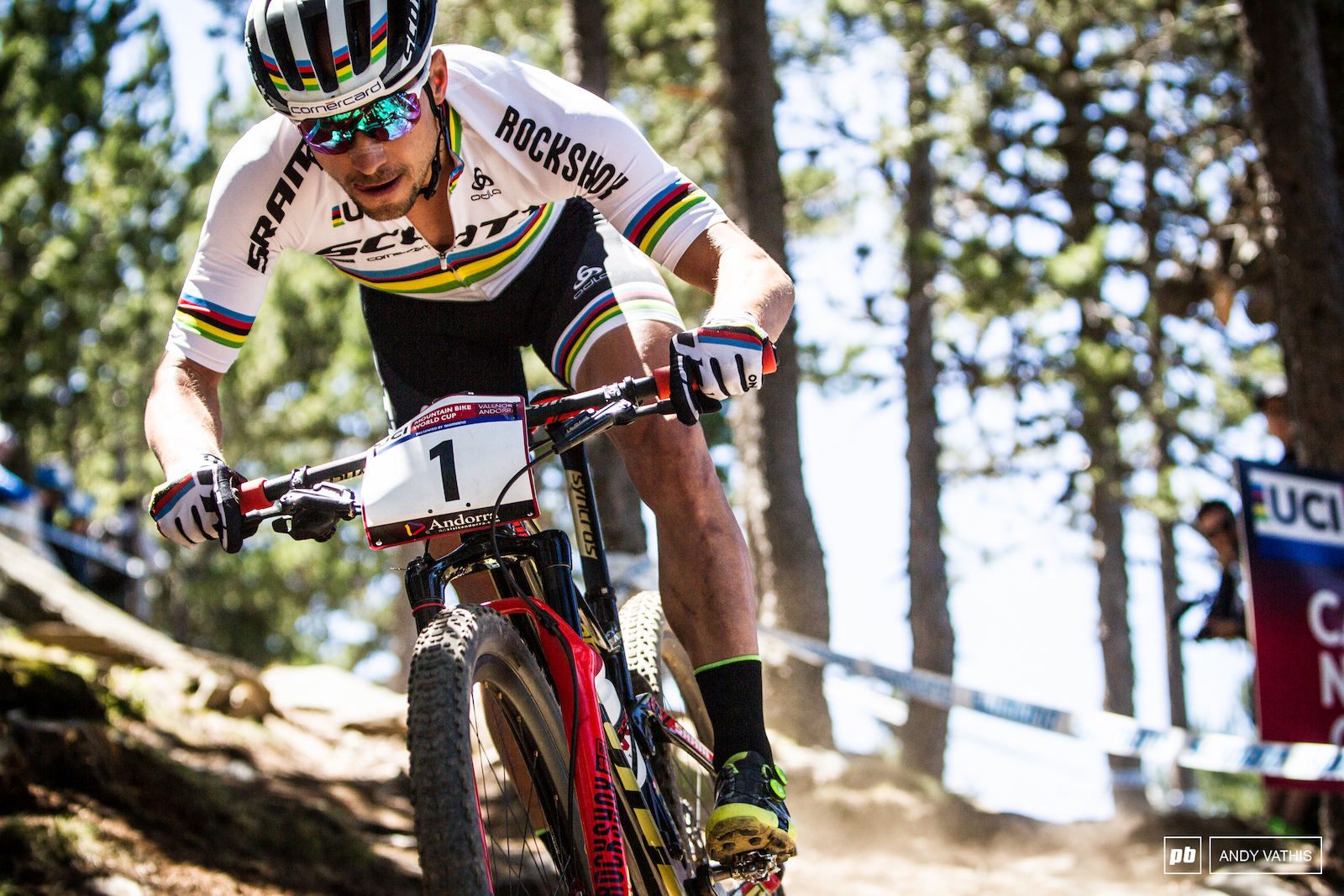 Big victory in the high altitude venue for Nino Schurter - 2017.