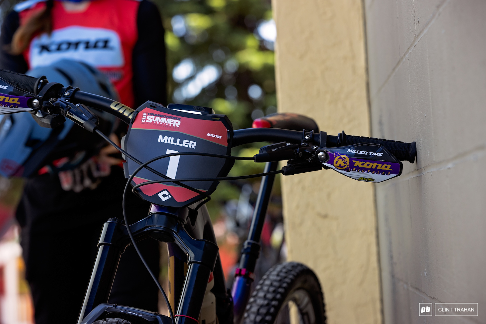 Miranda Miller riding Kona