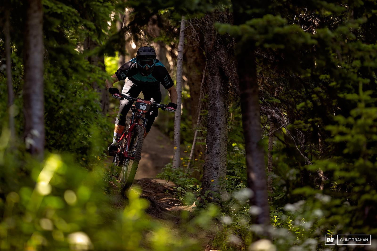Rhys Verner riding Kona
