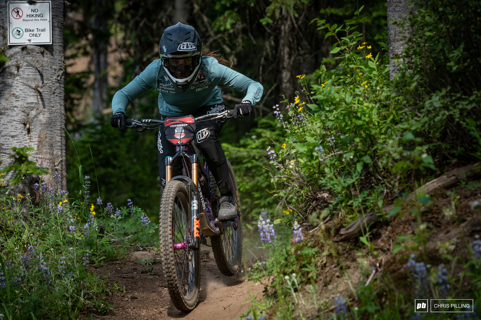 Vaea Verbeeck calm and cool on course