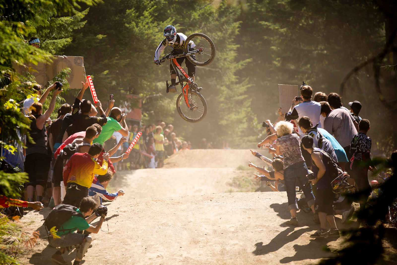 during the Crankworx Festival 2012 Whistler Canada