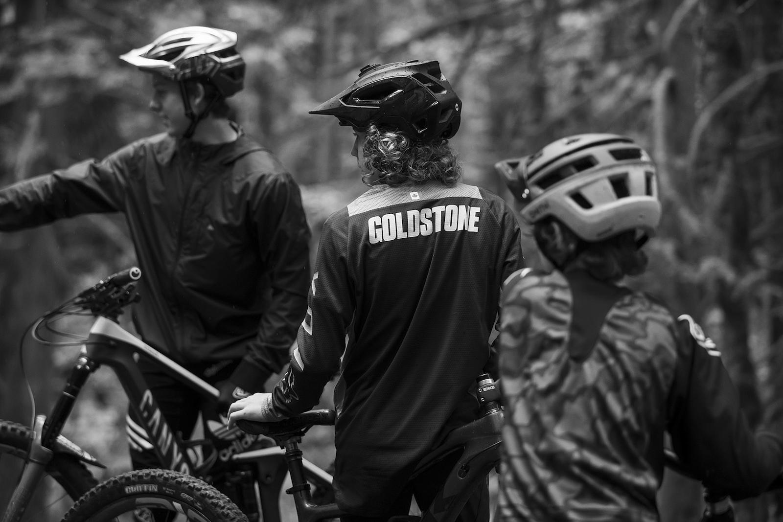 Jackson Goldstone with Jakob and Dane Jewettin Squamish British Columbia Canada