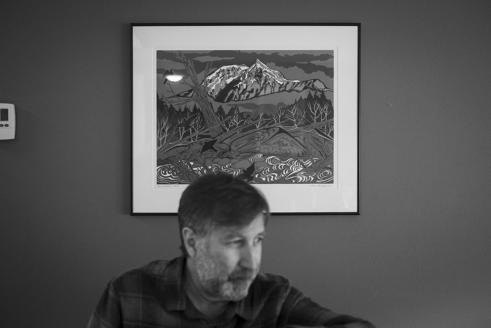 Ron Goldstone in Squamish British Columbia Canada