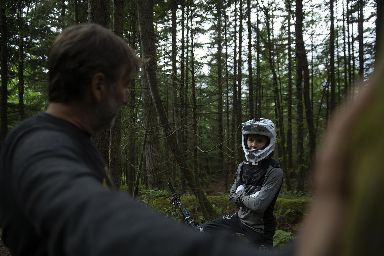 Jackson and Ron Goldstone in Squamish British Columbia Canada