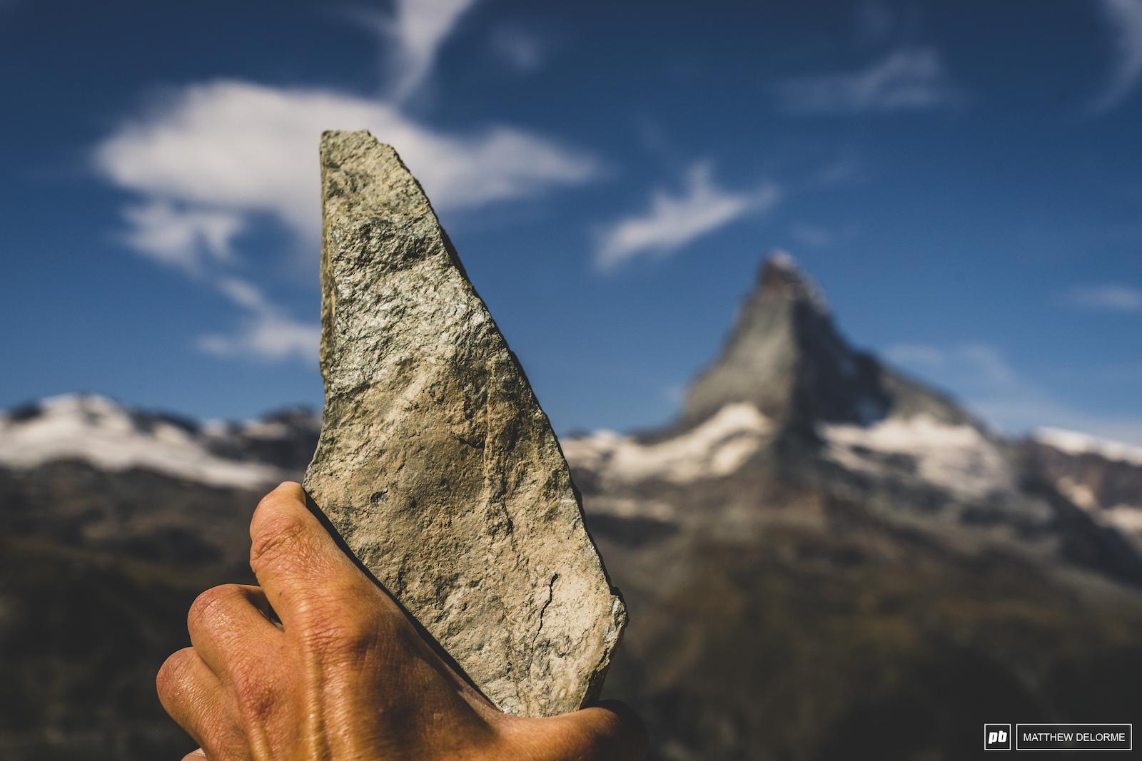 A horn for the Matterhorn.