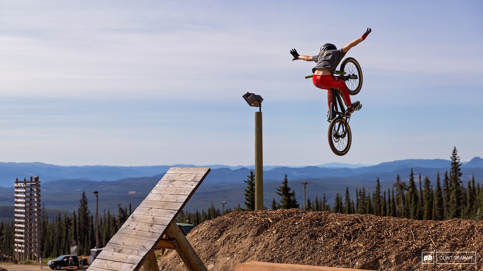 Grom riding at Big White