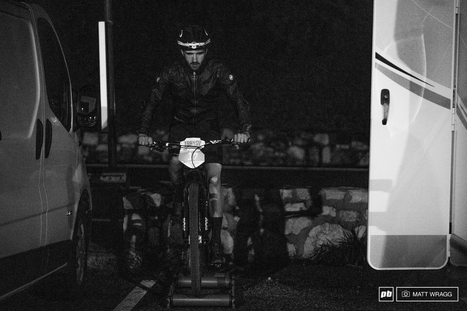 On the turbo trainer before 6am - it takes real commitment to come and play here.