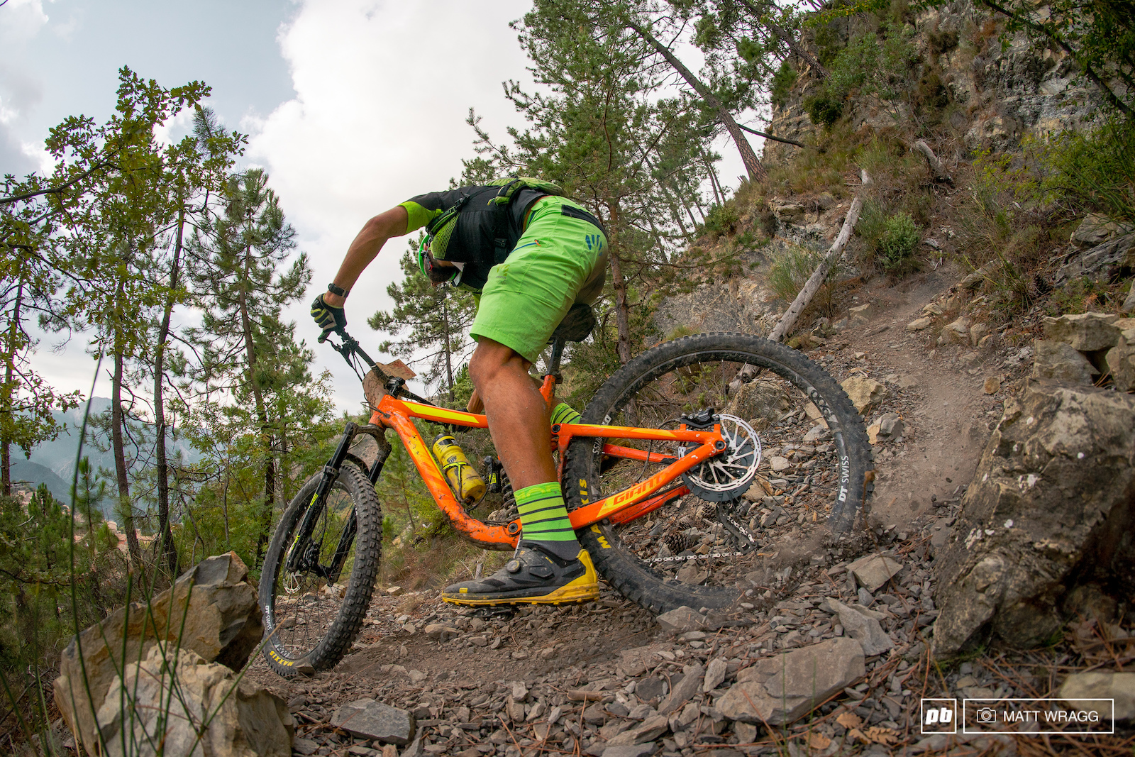 Choose your weapon 27.5 enduro bike with a coil shock...