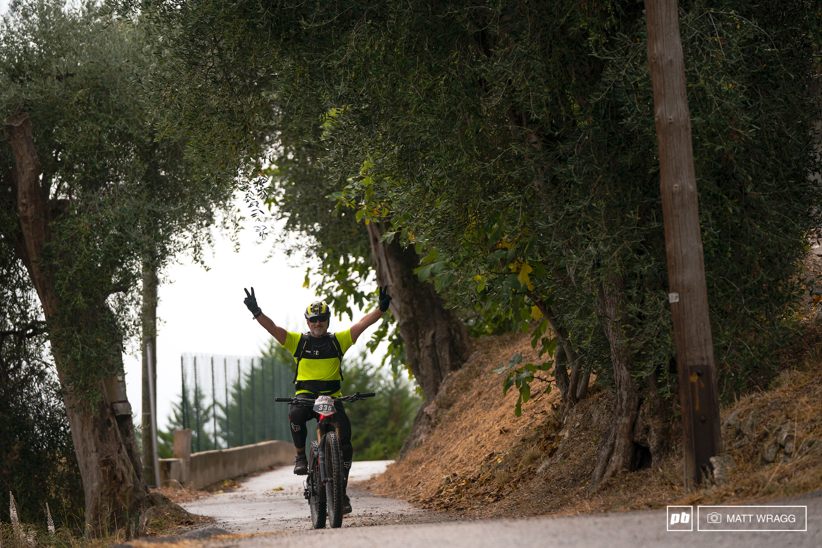 In recent years ebikes have opened the race up allowing more people to try their hand at this kind of high mountain racing.