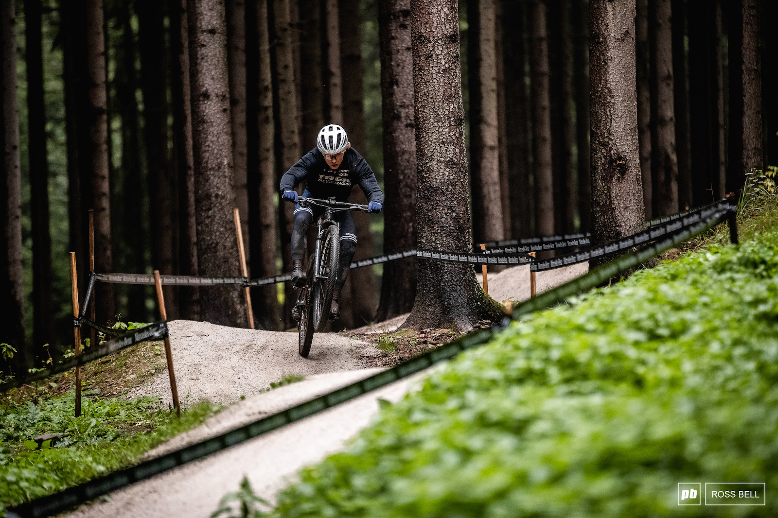 Anton Cooper finding his flow in the new section which will be used to keep things fresh between the 2 races.
