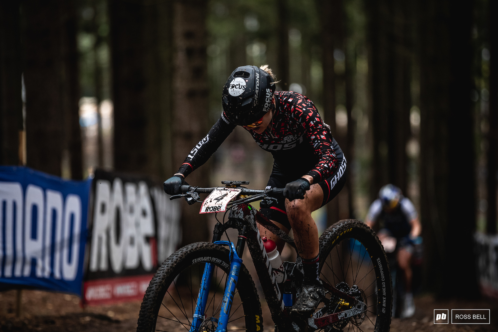 Sina Frei made it 2 Ghost riders in the top 10.