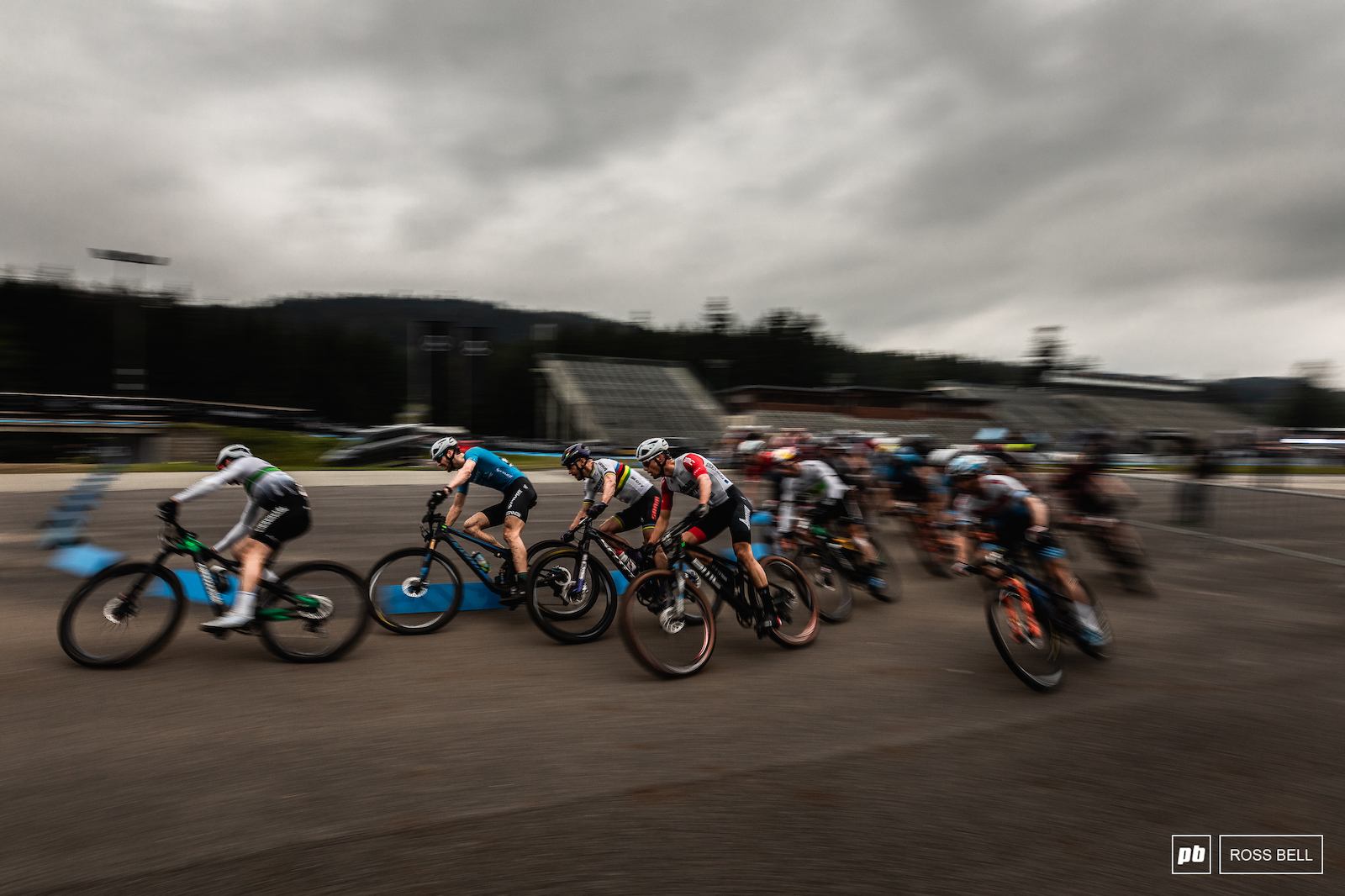 The racing was fast and frantic as we ve come to expect from the short track.
