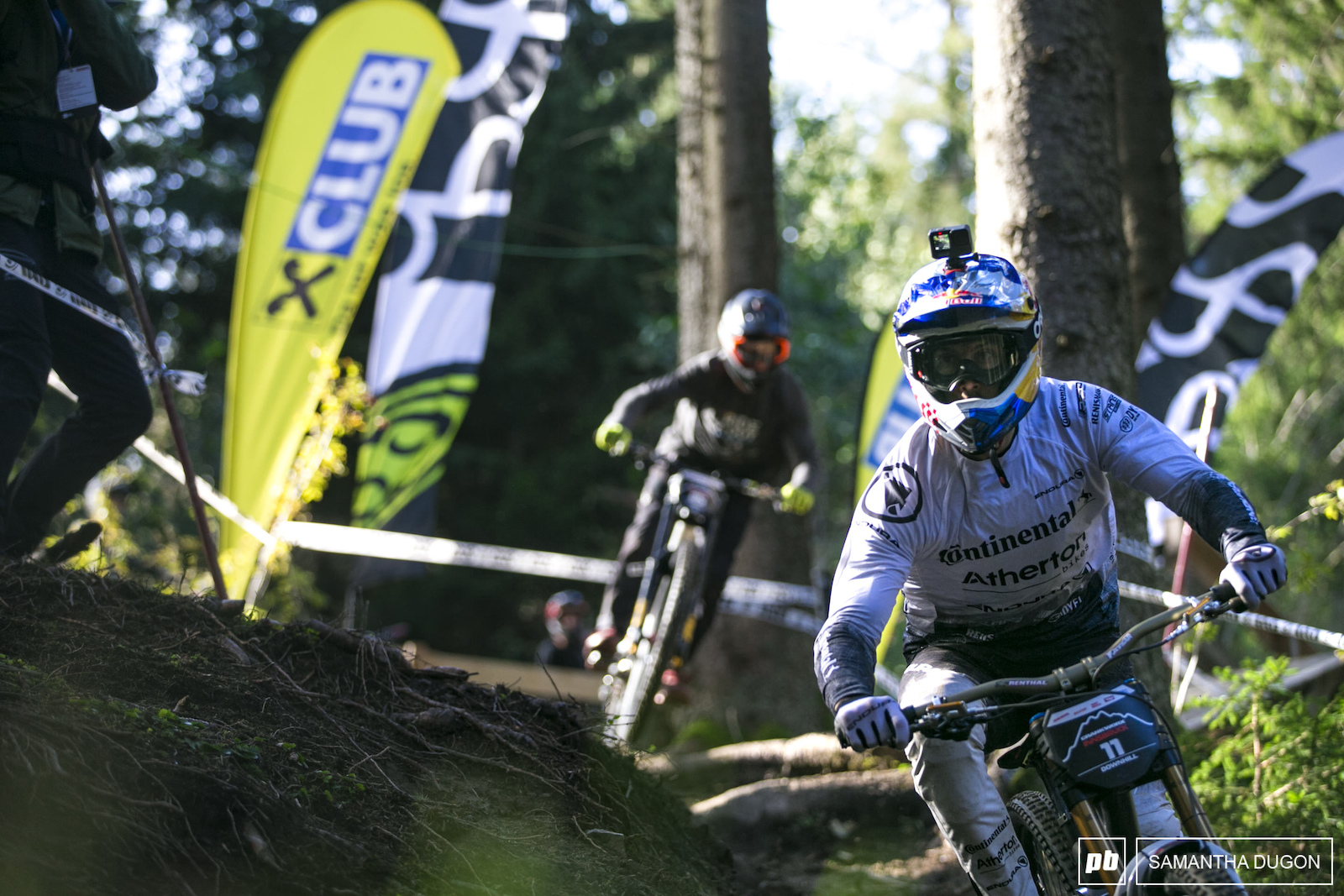 The Atherton crew were on track today getting in some downhill runs before heading to Leogang.