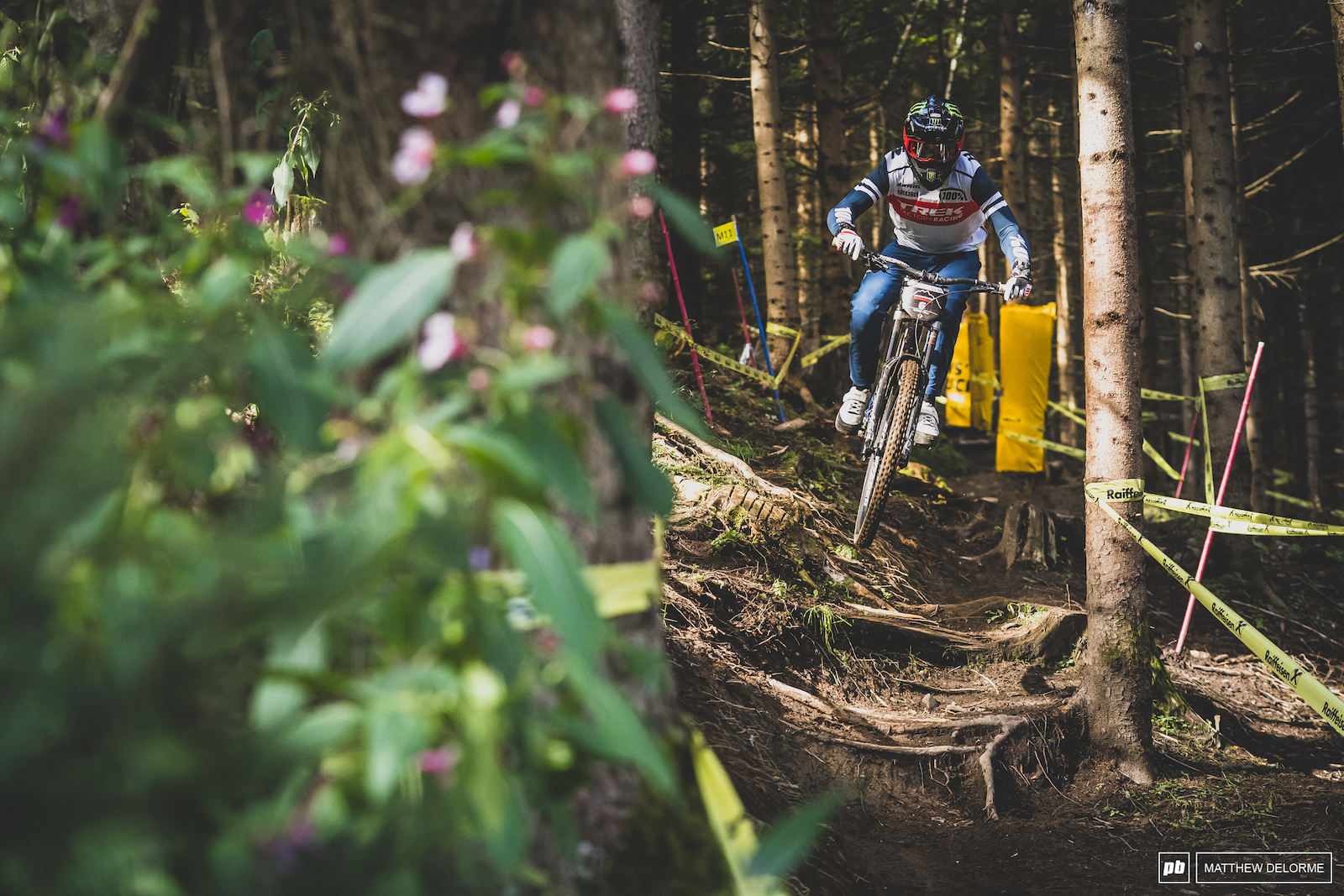 Charlie Harrison doing a little pre-Leogang prep.
