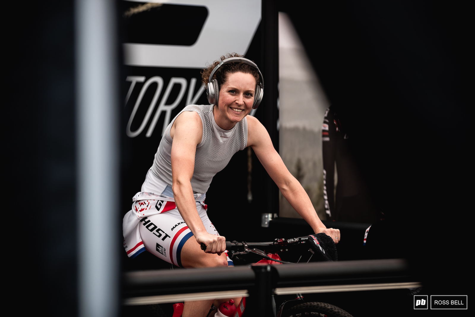Anne Terpstra getting ready for the final race action after a busy week in Nove Mesto.