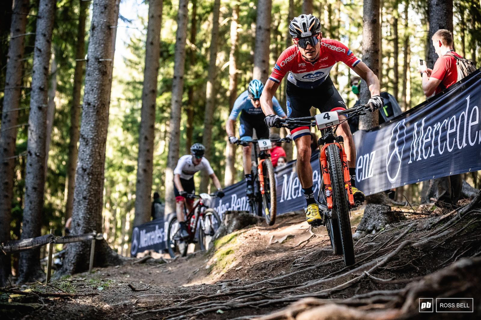 Milan Vadar has ridden super-strongly all week in Nove Mesto.
