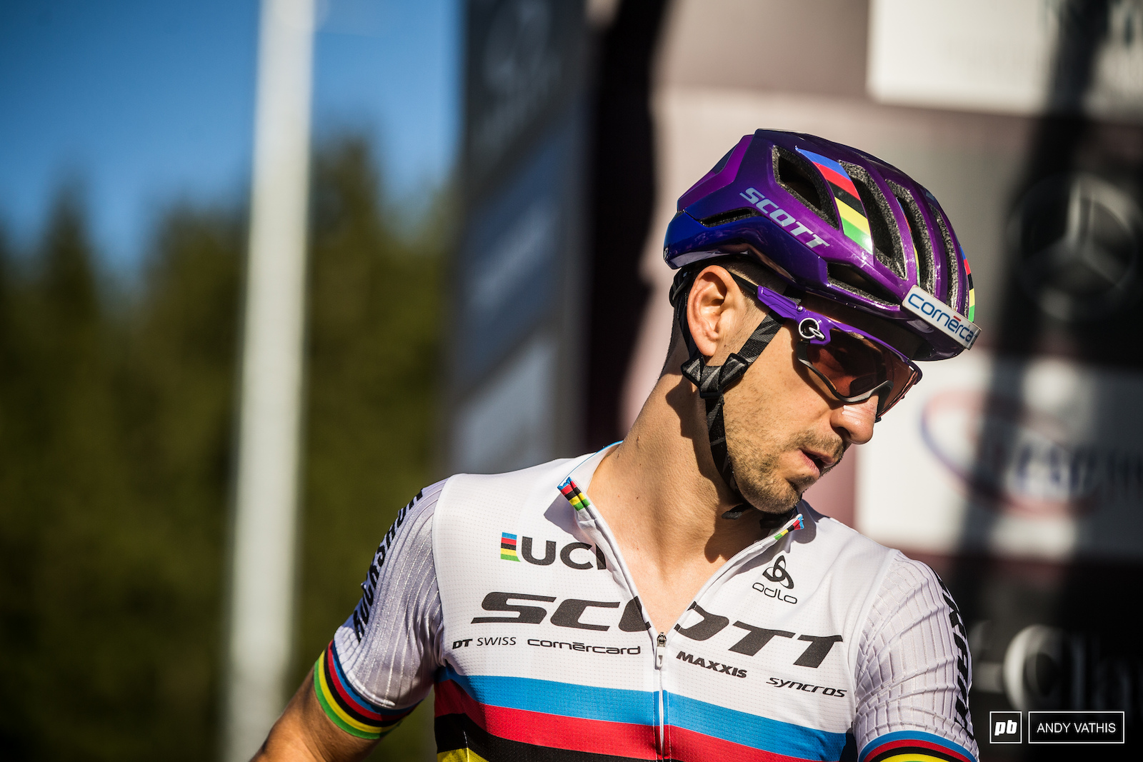 Nino Schurter is hungry for more after a few misfires earlier in the week.