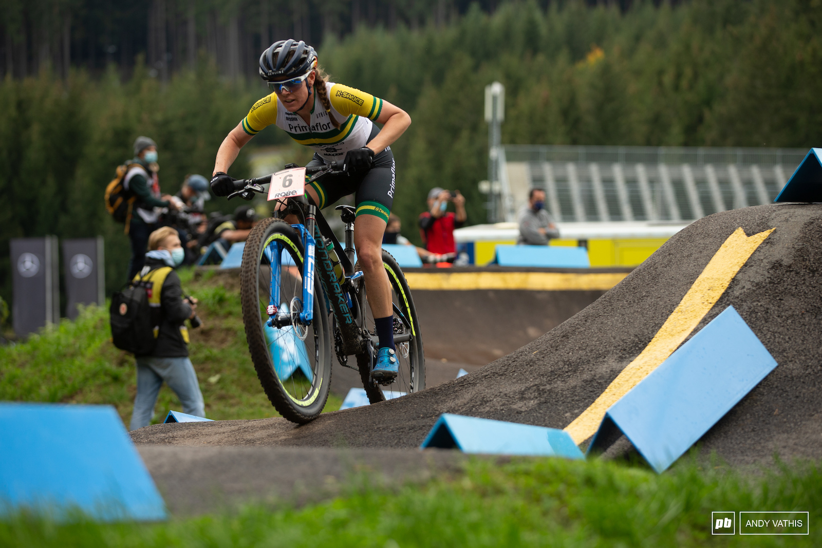 Strong ride today by Rebecca Mcconnell sliding onto the podium in fourth.