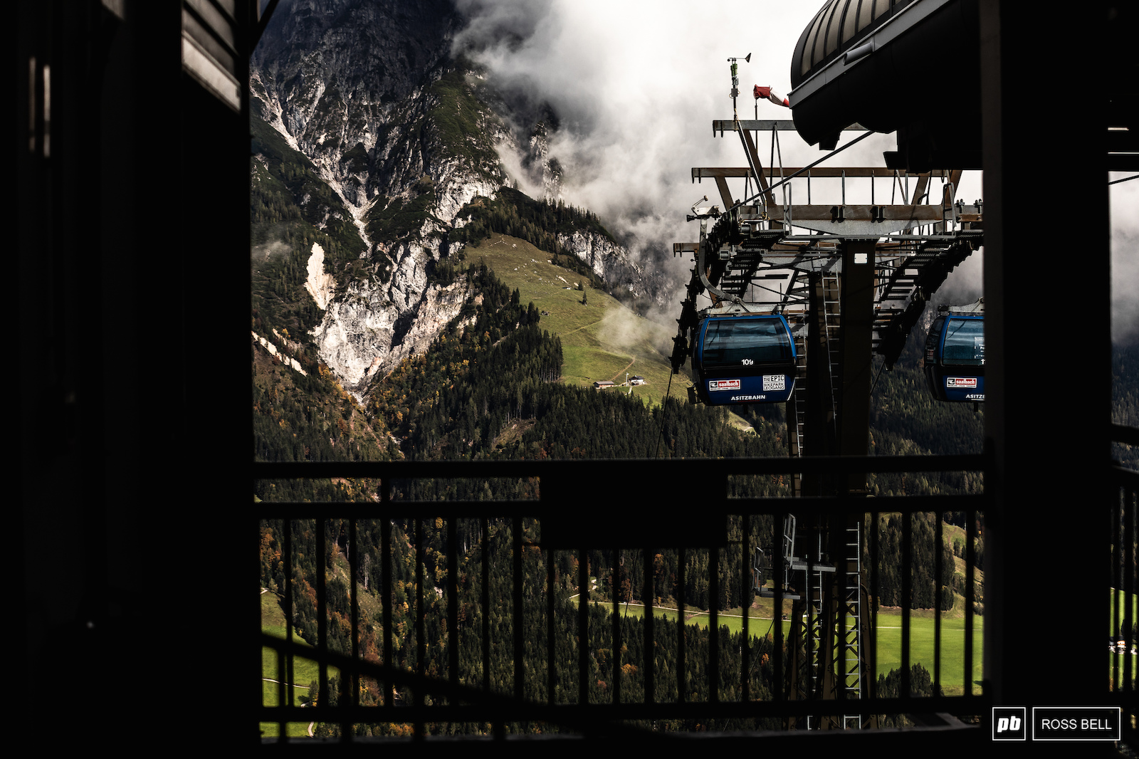 We ll never tire of the Leogang backdrop.