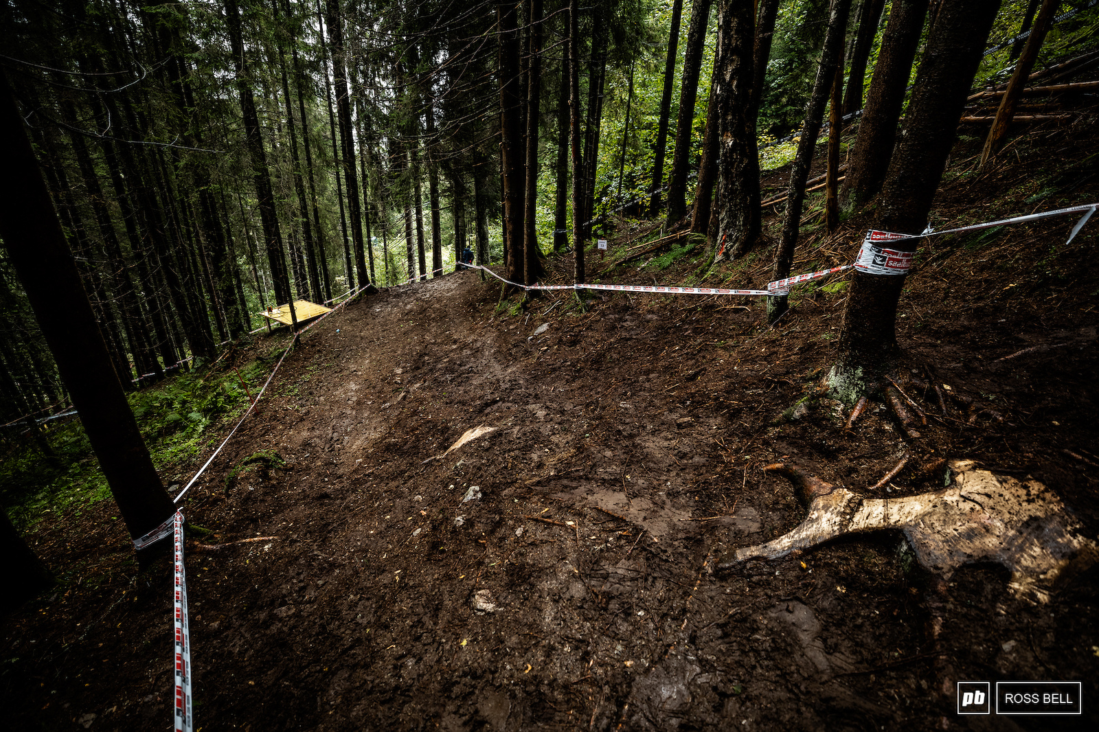 They ve taped it wide which should give riders plenty of line options over the weekend.