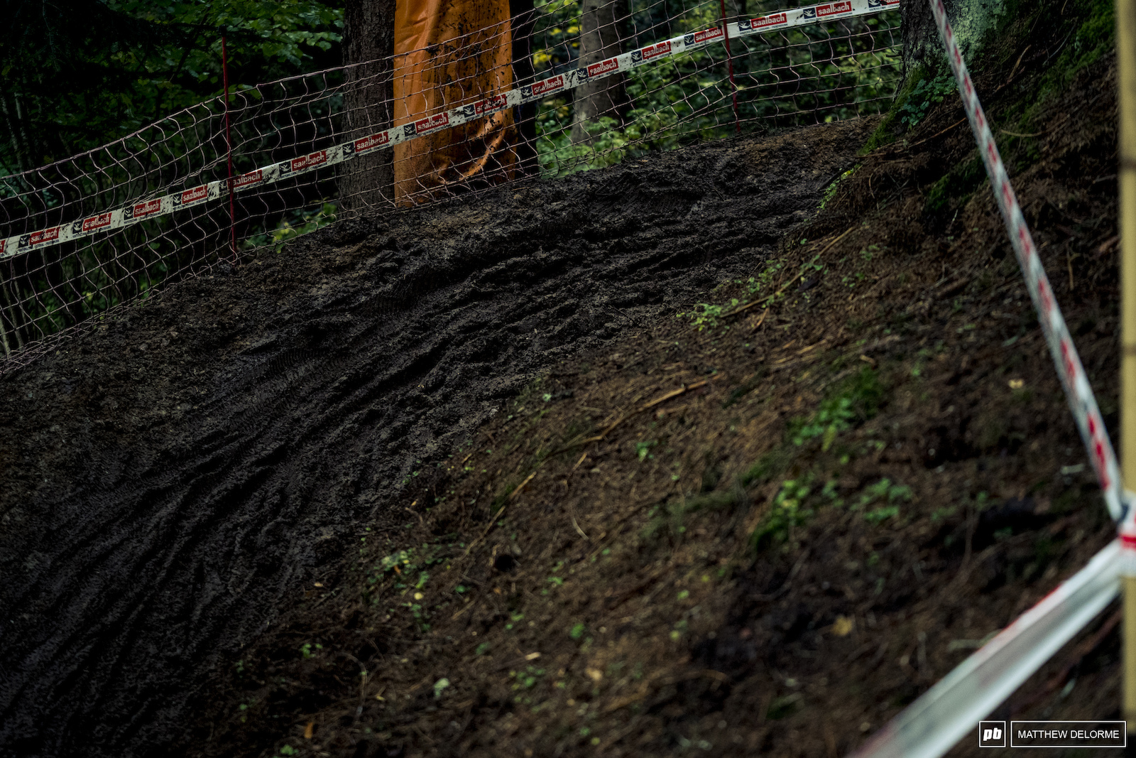 Dem ruts got deep after the ebikes tore through.