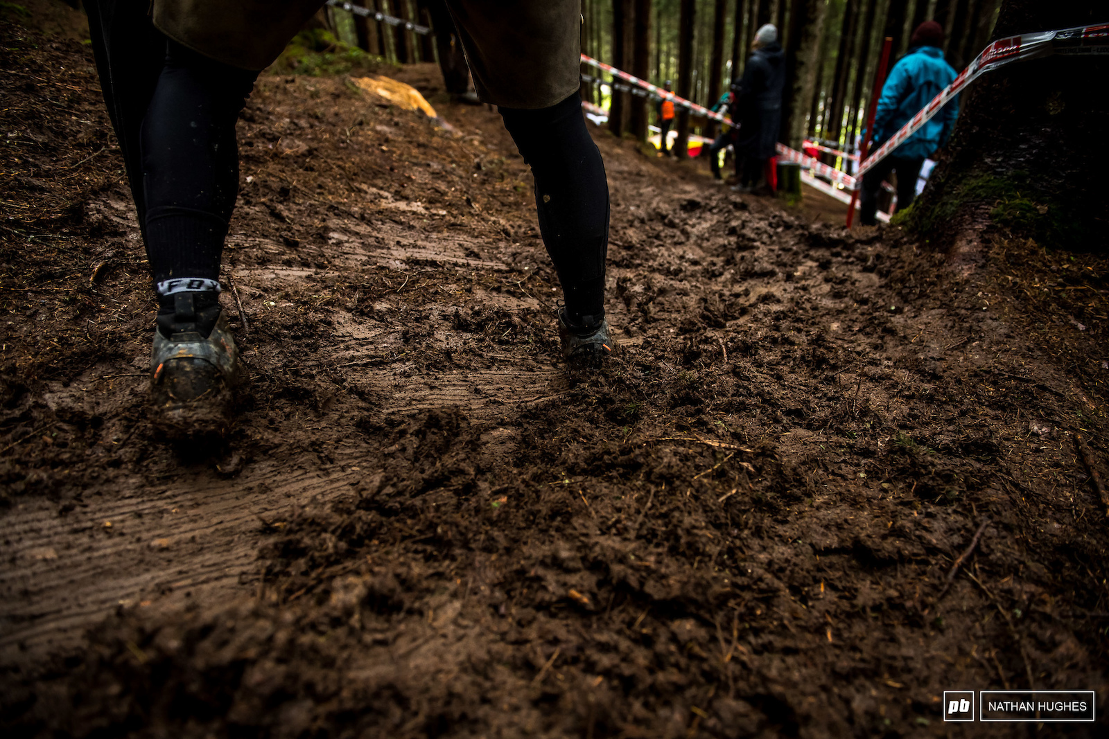 When the ruts form tomorrow afternoon it ll be better. Poor womens and juniors riding first thing tomorrow.