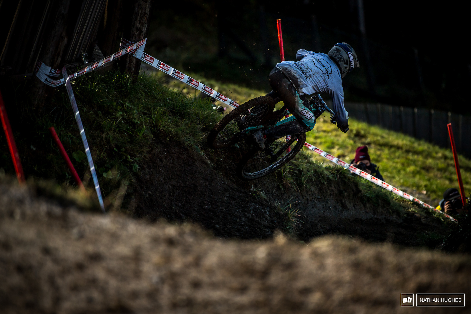 Propain s Luke Meier-Smith will surely be disappointed with anything short of a medal in juniors this weekend.