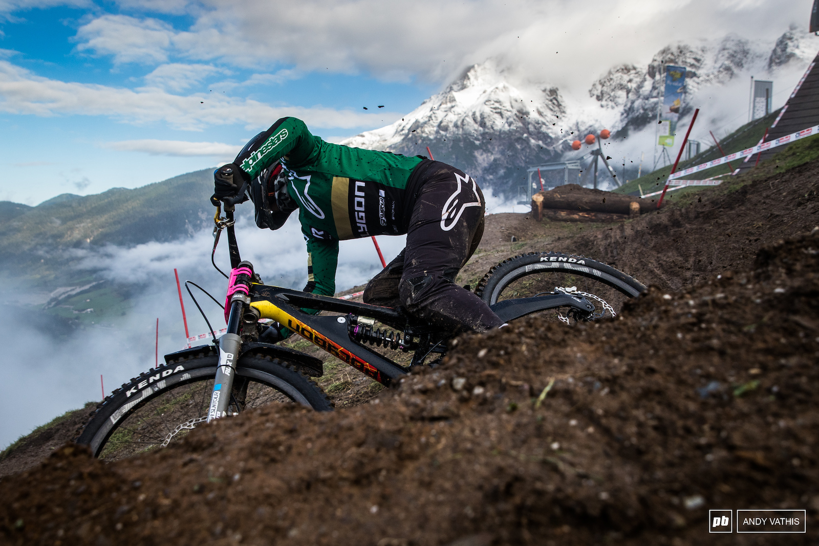 Tracey Hannah will be out for revenge after missing out on a Crankworx win to Vali Holl in Innsbruck.