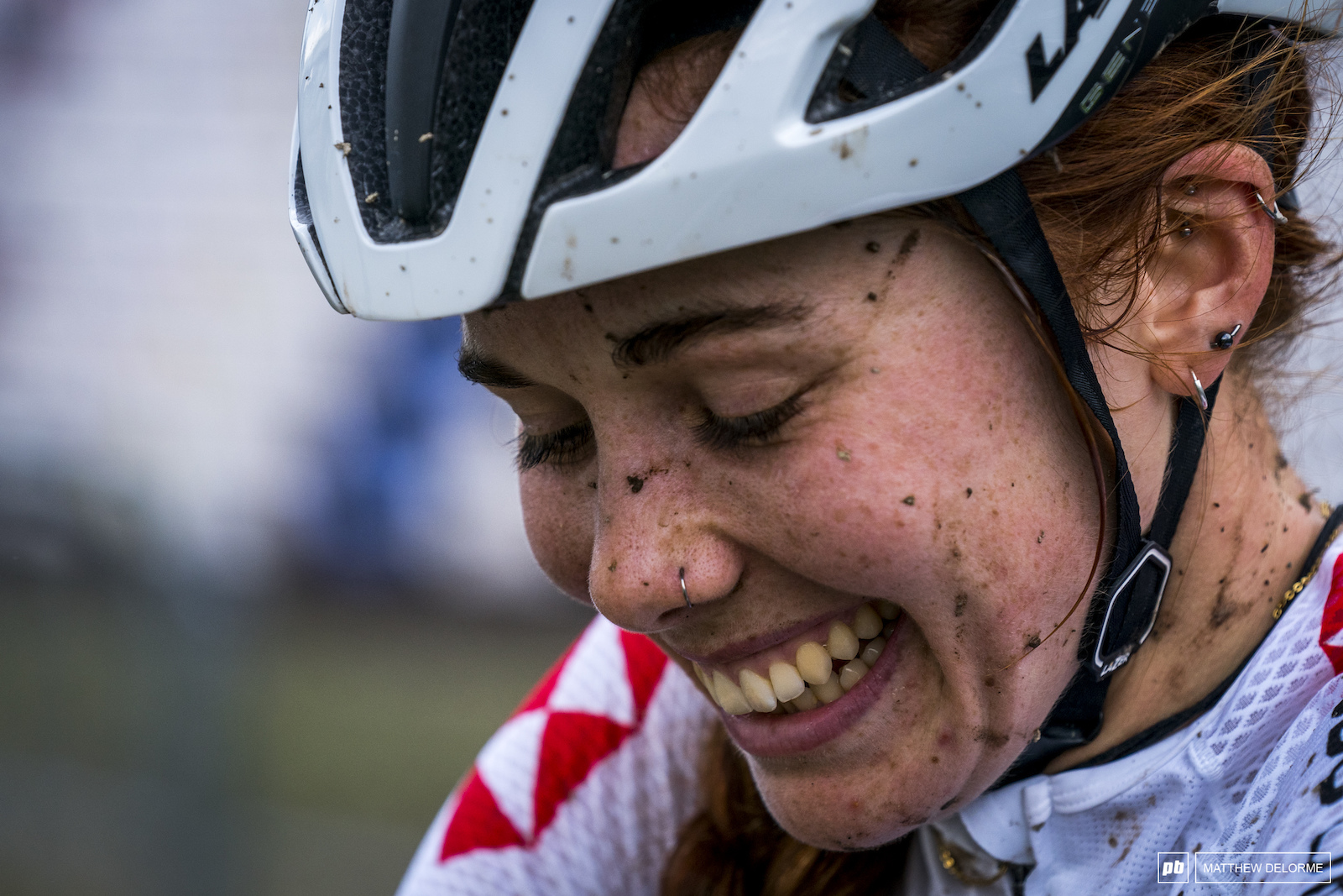 Isla Short had quite a bit to smile about at the end of her race.