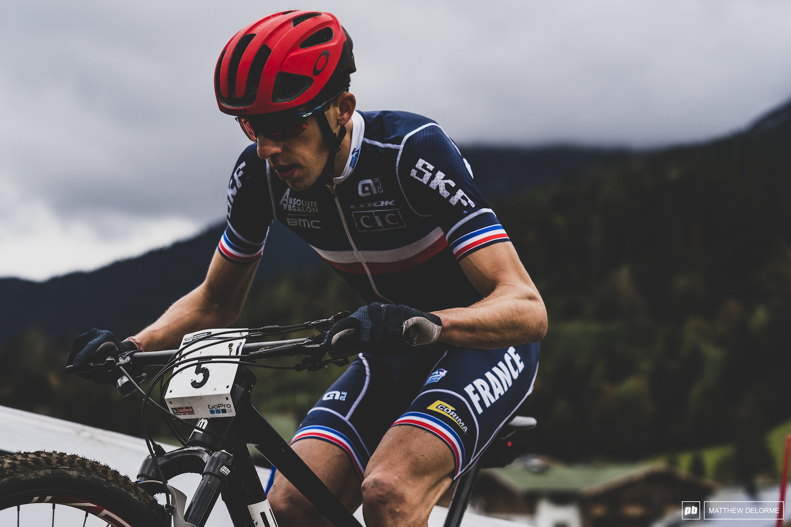 A strong start and legs to carry him through to the end. Jordan Sarrou had what it took today in Leogang.