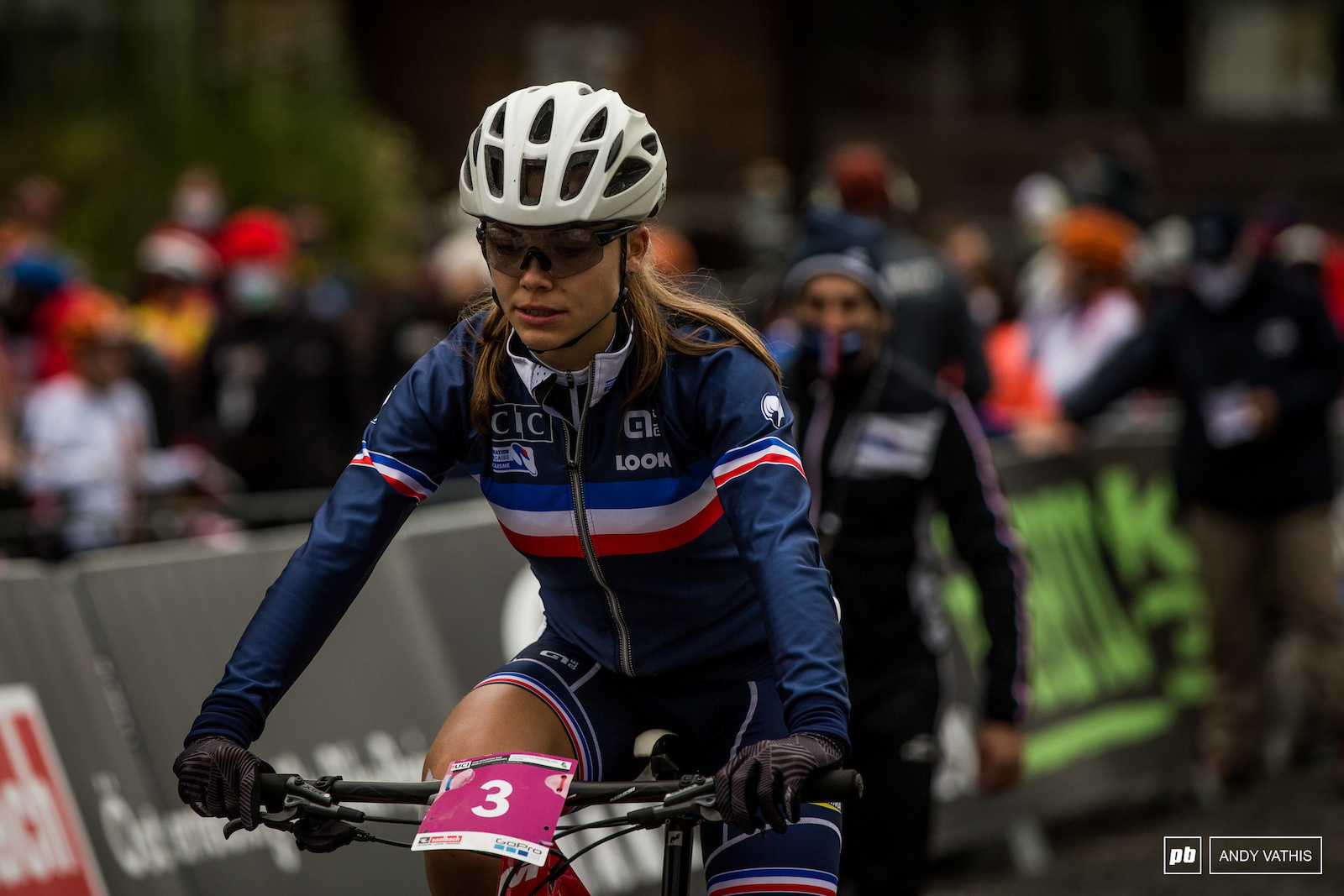 Already such a successful season for Loana Lecomte. Will she be able to tame this monster of a track