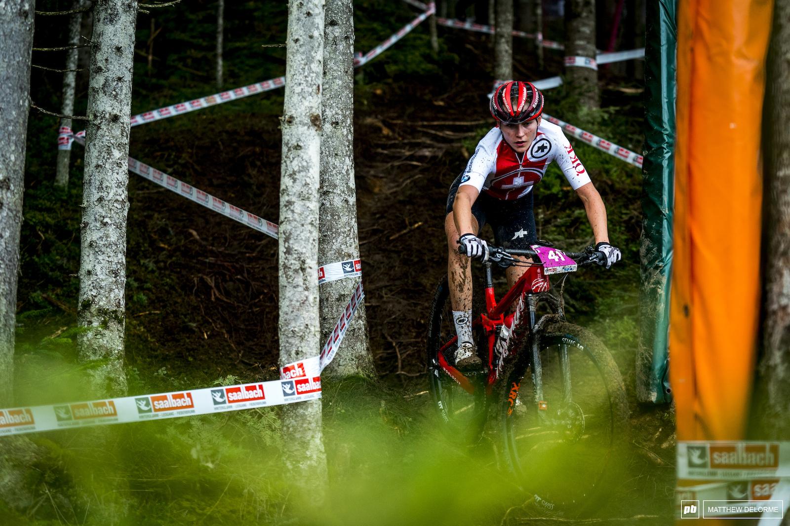 Noelle Buri took firth for the U23 women.