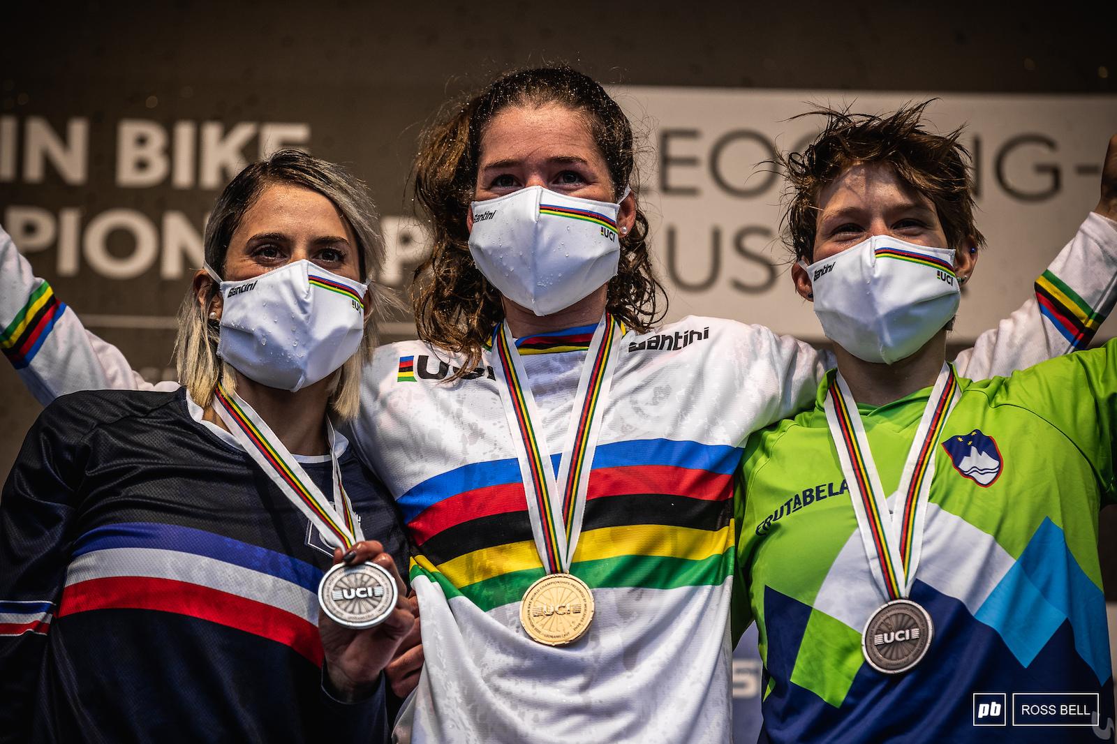 Your top 3 women. 1st Camille Balanche 2nd Myriam Nicole 3rd Monika Hrastnik.
